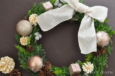 アトリエ・エコル クリスマスリース2011