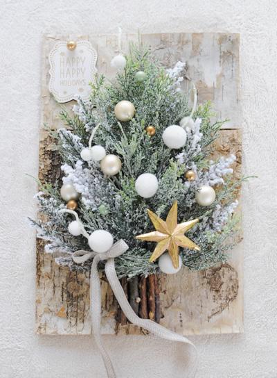 壁掛けクリスマスツリー1